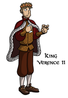 King Verence II by Iddstar