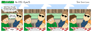 EWCOMIC No. 232 - Eyes 5 by eddsworld