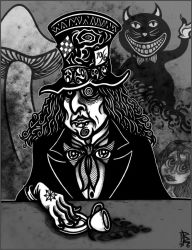 The MAD HATTER. by BRUZETOONZ