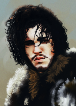 Jon Snow by Donnis