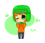 Kyle Broflovski -South park by LN-Polar