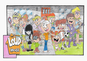 Welcome To The Loud House by FTFTheAdvanceToonist
