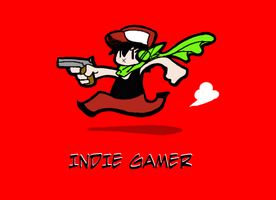 Indie Gamer by Zito-is-Neato