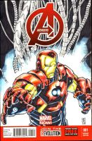 AVENGERS SketchCover by warpath28