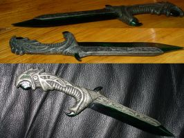 REAL Morrowind Glass Throwing Knife by Chief-01