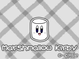 Marshmallow Kirby by clariecandy