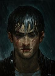 Jason Todd Portrait by NickRoblesArt