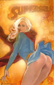 Supergirl-upskirt-sexy by synthetikxs