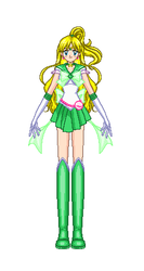 Super Sailor Earth (manga and Crystal) by Rose9227614