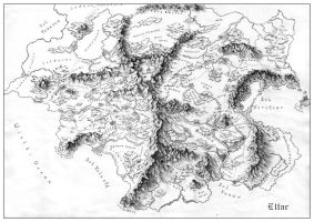 Map of Eltar by fragless
