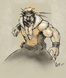 Sabertooth by antmanx68