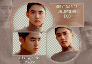 D.O EXO #37 - PNGS by fairyixing