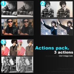 Action Pack - Old and waste by addictedsp8
