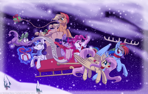 Merry Christmas! - 2012 by InuHoshi-to-DarkPen