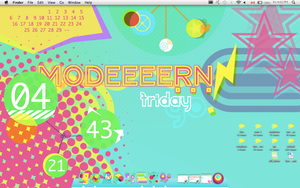 MODEEEERN Desktop by detergent-bubbles
