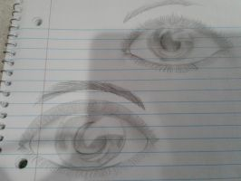 Eyes without a ref by Greenflme912