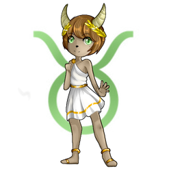 .:Chibi Zodiac Signs Series:. .: Taurus :. by xMaggieMags