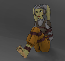 Hera bound and gagged by Lapot4421