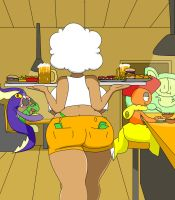 Hooter Waitress Whimsicott