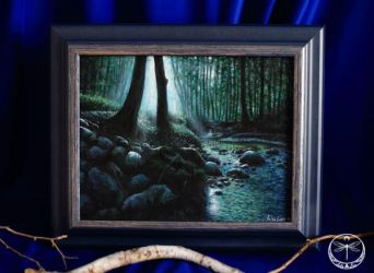 celtic twilight acrylic collection by Gwillieth