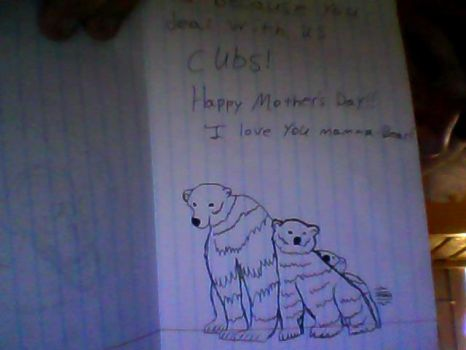 The inside of my mother's day card by arvark104