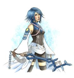 Aqua KH:BBS by angelaxiii