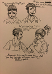 Inktober Day 3: Roasted part 3 (final part) by Melomiku