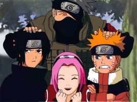 Fancell naruto team7 by hiroshii