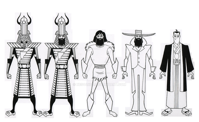 The Outfits of Samurai Jack V by Nes44Nes