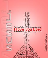 I love you lord by josephsamy