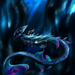 (Contest) Alien Waters by Xovinx
