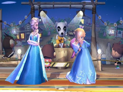 Elsa and Rosalina by signothetymes