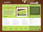 Personal blog index preview by Jvstin