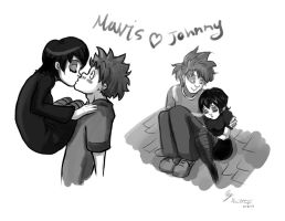 Johnny + Mavis by WhispersInTheMirror