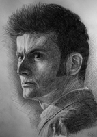 Portrait of Ten from Doctor Who by Lap12