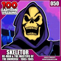 100 Cartoon Villains - 050 - Skeletor! by CreedStonegate