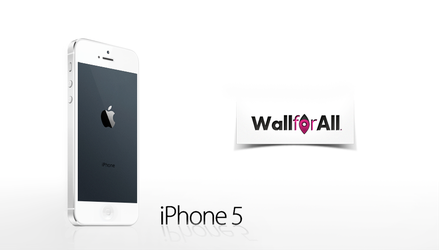 iPhone 5 BACKground by WallforAll