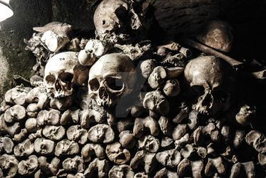 Catacombs of Paris by Danyelle-Rodriguez