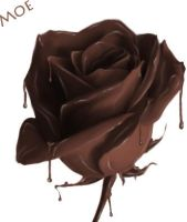 chocolate flower by coolthang