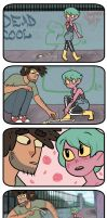 zomcom: holding Hands by EmiMG