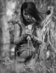Forest Huntress by Vizzee