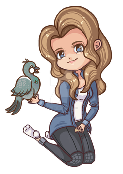 Me as chibi by RazorCheeks