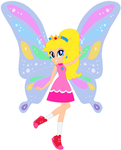 Peach with fairy wings by user15432