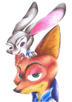 The Hopps and the Wilde by AnotherRaven