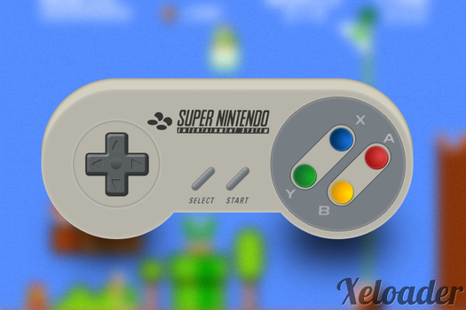 SNES Controller by xeloader