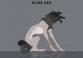 BLIND DOG ADOPT AUCTION #7 (CLOSED) by W-TOM