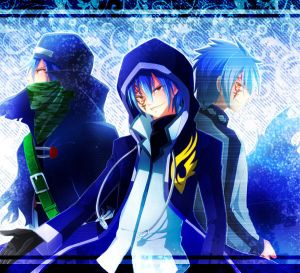 Love Triangle (Mystogan x Reader x Jellal)[Old] by LadyNecrotic on