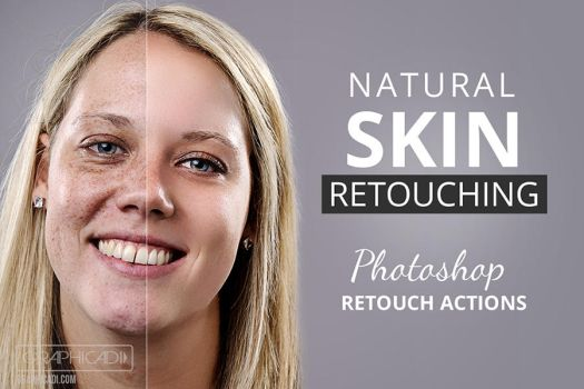 Photoshop Retouch Actions by Graphicadi