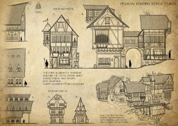 Fantasy Architecture by AlexJJessup