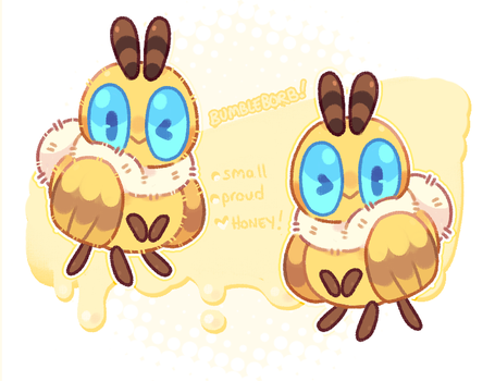 bumbleborb mascot! (his name is also bumbleborb) by blushbun